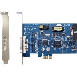 GeoVision GV-800 Video Capture Card - Functions: Video Capturing, Video Recording - PCI Express - 720 x 576 - NTSC, PAL - YesRetail - Plug-in Card - GV800-16 (Capture Pal Ntsc Card Security)