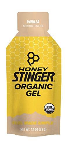 Honey Stinger Organic Energy Gel, Vanilla, Sports Nutrition, 1.1 Ounce (Pack of 24)