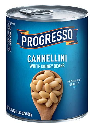 Progresso, Cannellini, White Kidney Beans, 19 oz Canned White Bean Soup