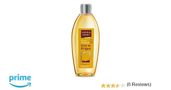 Natural Honey Aceite Corporal con Argán - 300 ml: Amazon.es ...