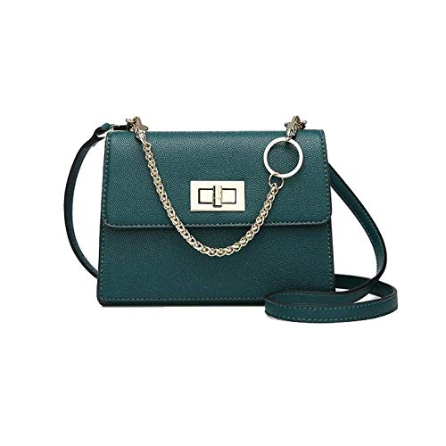 Borsa Da Donna Portable One Shoulder Simple Stylish Wild Casual Trend Dating Shopping Green