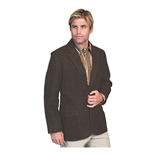 [スカーリー] メンズ ジャケット&ブルゾン Leather Blazer 602 Long [並行輸入品] B07DHN5ZXB 46