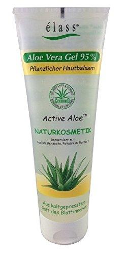 élass Aloe Vera Gel 95% Pflanzlicher Hautbalsam, 1er Pack (1 x 250 ml)