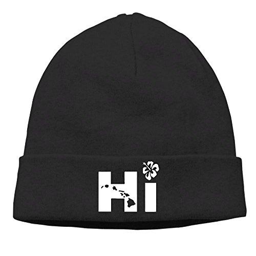 KKalobnm Hi Hawaiian Men's&Women's Knit Beanie Caps Winter Warm Daily Hat