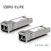 2 Pack - Ubiquiti Compatible UF-MM-10G U Fiber 10GBASE-SR SFP+ 850nm 300m DOM Transceiver (2-Pack)