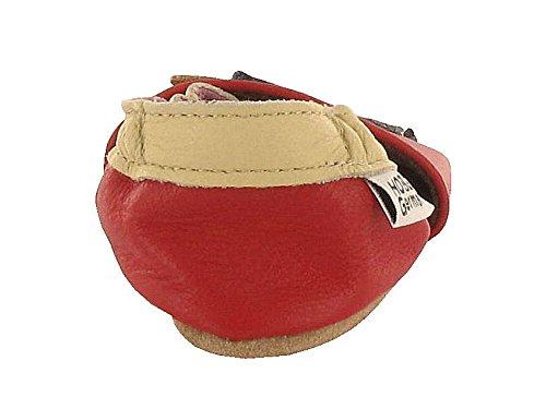 HOBEA Indian - Zapatos Unisex bebé rojo