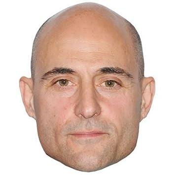 Mark Strong Máscaras de personajes famosos, caras de carton