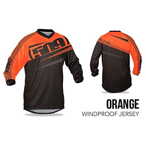 (KLIM 509 Windproof Jersey (Orange - 3X-Large))