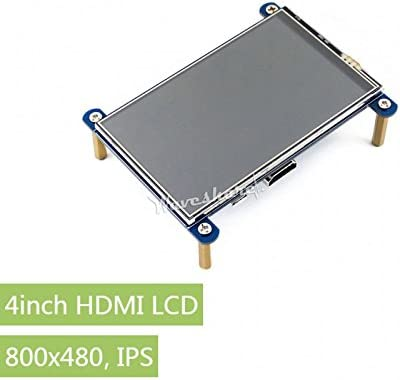 800x480 IPS waveshare 4inch HDMI LCD
