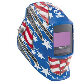 - Miller 281002 Digital Elite Stars and Stripes III Welding Helmet with