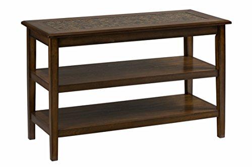 Cheap Jofran: 698-4, Baroque, Sofa/Media Table, 48″W X 20″D X 30″H, Baroque Brown Finish, (Set of 1)