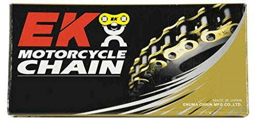 EK Motorcycle Chain Chain 428 SR Heavy Duty Chain - 132 Links - Natural , Chain Type: 428, Chain Length: 132, Color: Natural, Chain Application: All