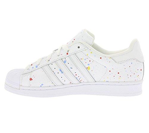 adidas Herren Schuhe / Sneaker Superstar weiß 43 1/3