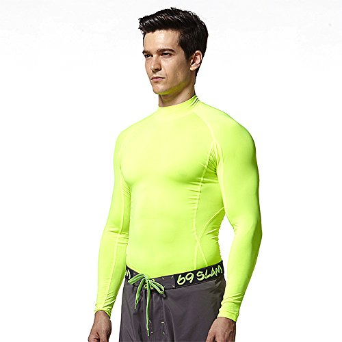 Mock Core Neck - Tesla Compression Mock Neck Under Base Layer Rashguard UPF 50+ Tops N/N XL