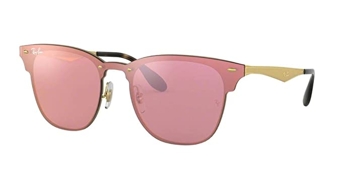 8ff2518172 Image Unavailable. Image not available for. Color  Ray-Ban RB3576N BLAZE  CLUBMASTER Sunglasses 043 E4 ...