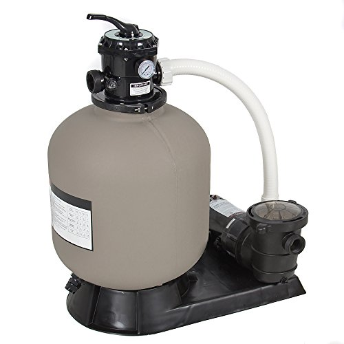 Best Choice Products SKY1639 Swimming Pool Pump System, (Ground Pool Sand Filter System)