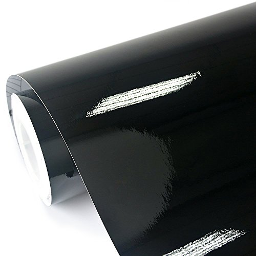 TECKWRAP Gloss Black Car Wrap Vinyl Film Sticker 11.5