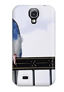New Fashion Premium Tpu Case Cover For Galaxy S4 - Cantankerous Parakeets