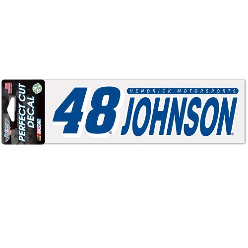 (NASCAR Driver 3 x 10 Perfect Cut Decal with 2017 Graphics (Jimmie Johnson) )