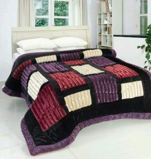 TradeBlush Ultra Fiber Soft Quilt for Heavy Winters and AC - Double Bed, Assorted