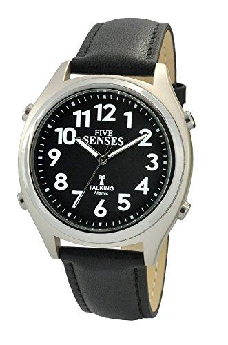 Atomic Talking Watch - Sets Itself Five Senses Unisex Talking Watch (SENS-RCTK-P201-19)(M104) ()