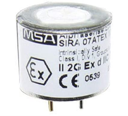 MSA 10089163 Reemplazo portátil Kit de Sensor de Oxígeno para Altair 4/5 Detector Multi