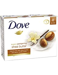 Dove Beauty Bar, Shea Butter, 4 oz, 8 Bar