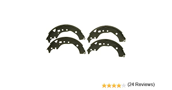 Rear Wagner QuickStop Z945 Brake Shoe Set