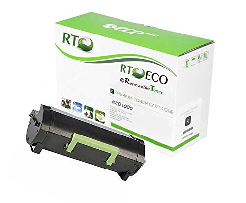 Renewable Toner 521 Compatible Toner Cartridge Replacement for Lexmark 52D1000 for MS812 MS810 MS811 series