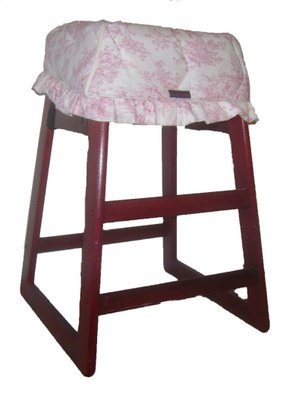 Amazon Com Pink Toile Restaurant High Chair Cover
