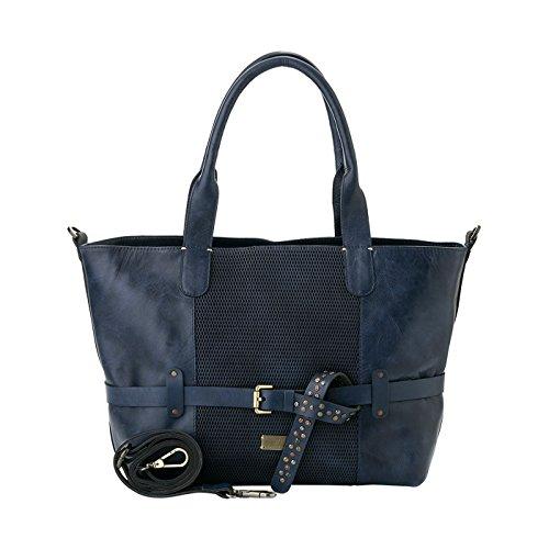 Amazon.com: Velez Womens Beautiful Genuine Colombian Leather Handbags Reusable Tote Shop Bags   Carteras y Bolsos de Cuero Colombiano para Mujeres Blue: ...