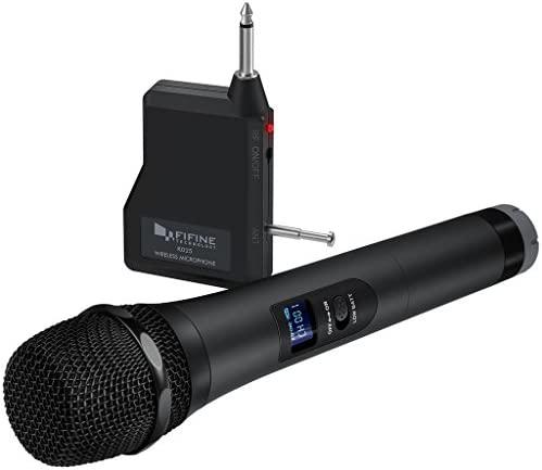 Wireless Microphone Handheld Dynamic Speakers K025