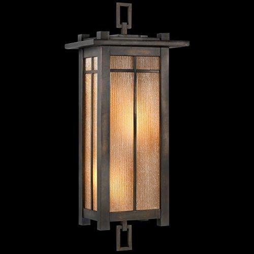 Fine Art Lamps 401581, Capistrano Outdoor Wall Pocket Sconce Lighting, 120 Total Watts, Bronze - Capistrano Outdoor Wall