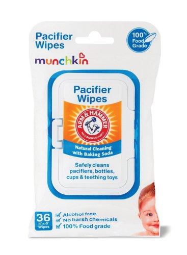 Munchkin Hammer Pacifier Wipes Packs