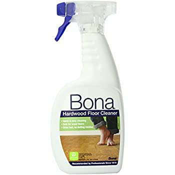 Bona hardwood floor cleaner spray 32 oz for Wood floor cleaner bona