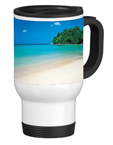 Tropical Paradise 14 ounce Stainless Travel Mug Thermos