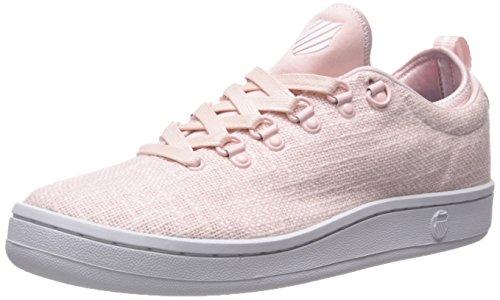 K-Swiss Women's Classic 88 Sport T Fashion Sneaker Crystal Pink/White 9 M US