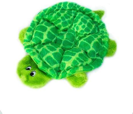Pet Supplies Pet Squeak Toys Zippypaws Crawlers 6 Squeaker Plush Dog Toy Slowpoke The Turtle Amazon Com