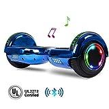 jolege Hoverboard with Bluetooth Speaker