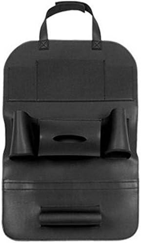 AutoFurnish 3D Auto Car Back Seat Organizer Multi Pocket Storage Bag Holder Hanger Accessory Black