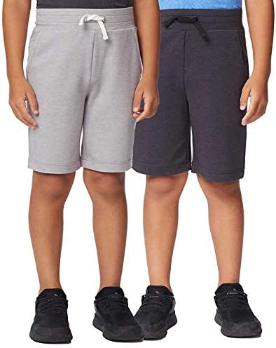 Short 32 Degrees Cool Youth 2-Pack Active Gray Size: Medium