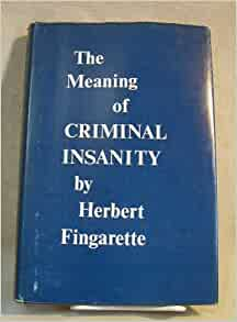 what does criminally insane mean