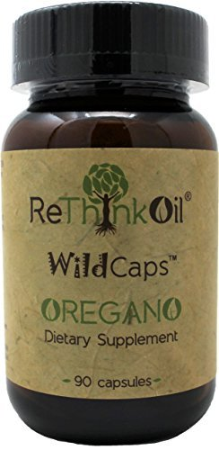 90 count - Wild Oregano Oil Capsules (with coconut oil). Vegetarian, Soy & Gluten free.