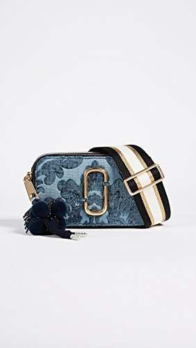 Bag Body Jacobs Marc Blue Women's Damask Snapshot Cross HXdYYwaq