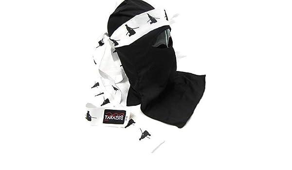 Dojo Shinobi Ninja Ultimate Warrior negro máscara Set ...