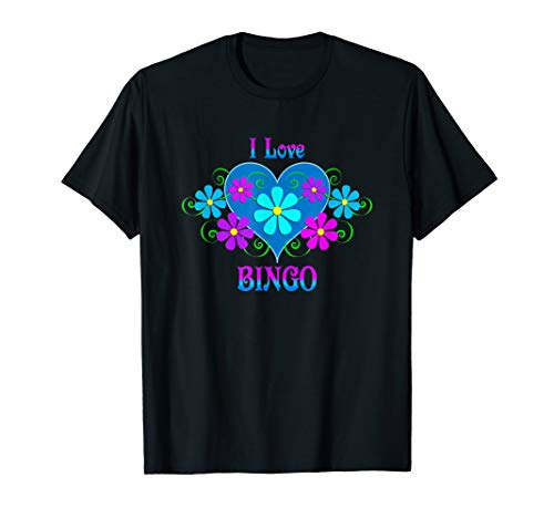 I Love Bingo T-Shirt -