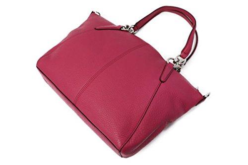 5c887fe31e5a Coach Pebble Leather Small Kelsey Crossbody Bag Purse Handbag (Magenta) -  F36675-SVMJ   Crossbody Bags   Clothing