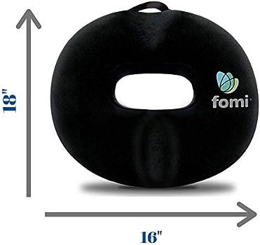 Coccyx Coussin De Si/ège Gonflable Portable pour H/émorro/ïde Pompe /à Air Incluse pour Chaise De Bureau /à Domicile pour gla/çage dailymall Square Premium Donut Cushion