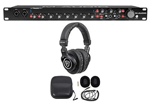 M-Audio M-Track Eight 8 USB Audio Recording Interface+Pro Studio Headphones