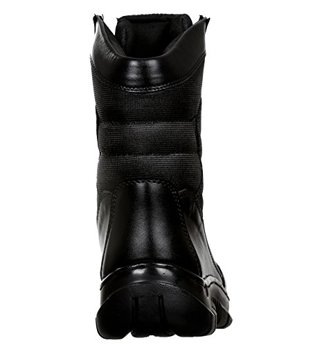 9 Waterproof Black High Combat and Military Men's Leather Eye Tactical SSG Cut Boot nwaBxPt